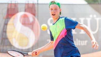 Dank Revanche: Aargauer Tennistalent Jannis Simmen ist Schweizer Meister