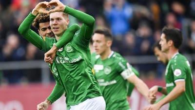 Eine Hommage an den «grün-weissen» Fussball, der diese Saison geprägt hat:Wir gegen den Rest der Schweiz
