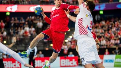 Dänen beugen sich dem Druck der Schweizer Handballer – Andy Schmid ist nun doch dabei