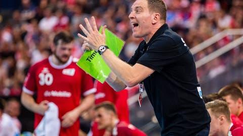 Handball-Nati-Trainer Michael Suter: «Wir wollen unsere Geschichte schreiben: veni, vidi, vici»
