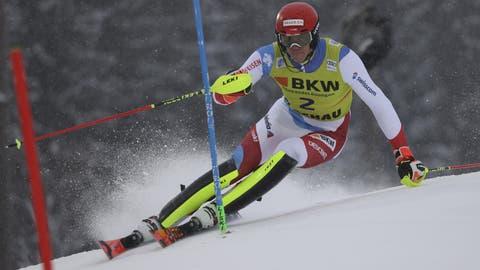 Ramon Zenhäusern wird Sechster –der Österreicher Manuel Feller gewinnt erstmals ein Weltcup-Rennen