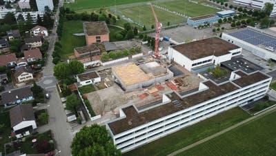 Erweiterung Schulhaus Steinli: Coronakrise vereinfachte die Arbeit