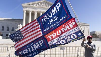 Oberstes Gericht der USA weist Klage von Texas gegen Wahlausgang ab