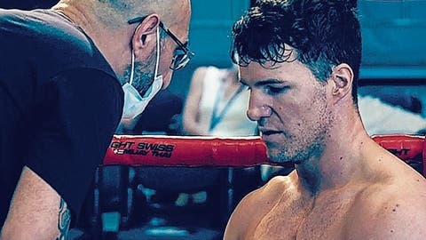 Boxer Stefan Rumpold macht im ersten Profikampf kurzen Prozess mit einem Ungarn – Corona zwingt ihn zur Pause
