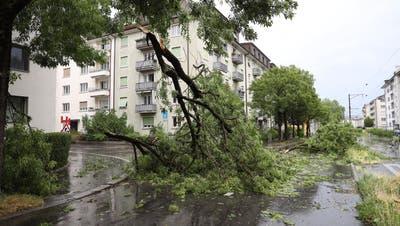 Gewitter in Zentralschweiz: Eine Person in Obwald in Lebensgefahr++ Auf dem Pilatus Windspitzen von 161 Kilometer Pro Stunde
