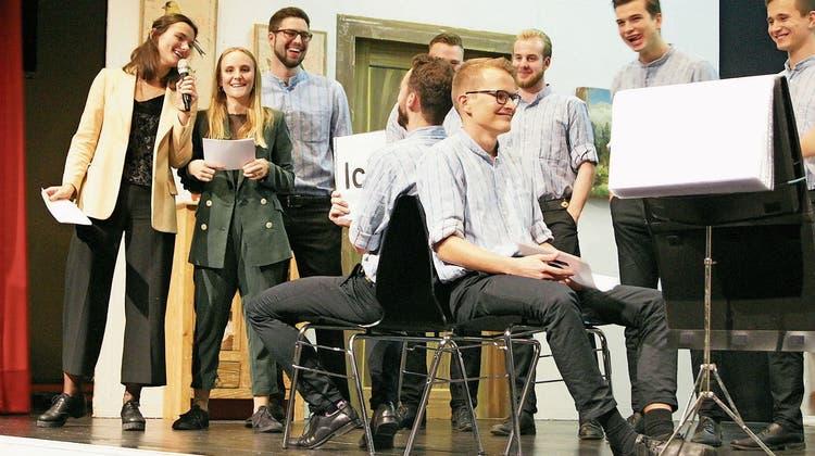 Für Sängernachwuchs ist gesorgt: Chöre und Theatergruppe trafen sich zum Jahreskonzert