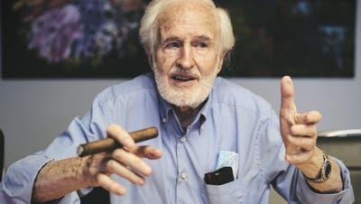 «Wir sind keine Apotheker, die Wässerchen in Dosen verkaufen»: Zigarrenhersteller Heinrich Villiger ist der letzte seiner Art