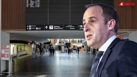 Der Flughafen-Zürich-Chef im Interview: «Unsere Erträge sind um 97 Prozent eingebrochen»