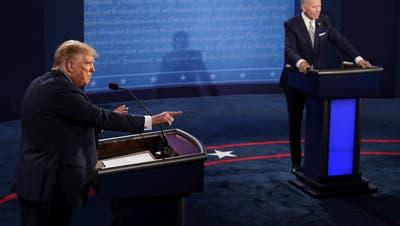 Das erste TV-Duell zwischen Trump und Biden war nicht schön anzusehen – aber dennoch erhellend