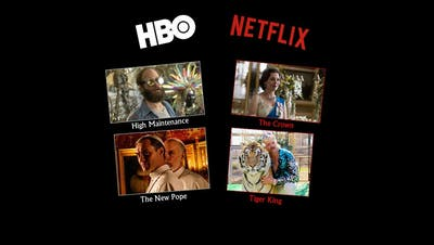 Netflix oder HBO– wo gibt es die besseren Serien?