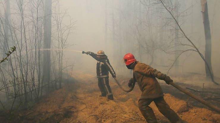 Mindestens fünf Tote bei Grossbrand in der Ostukraine