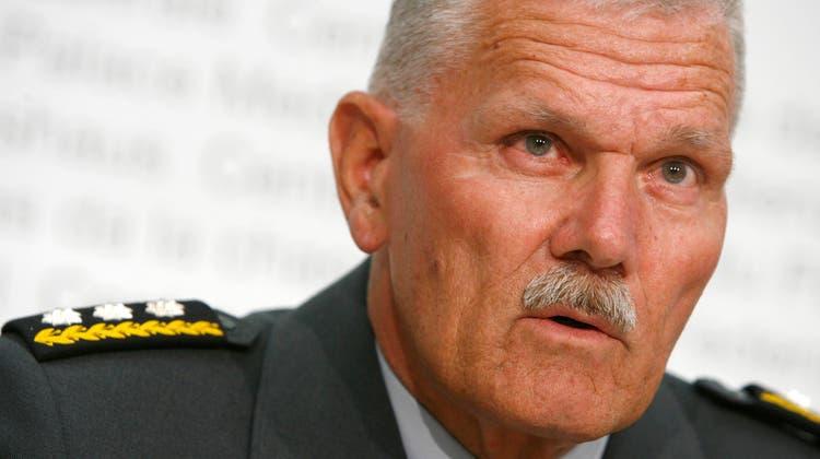 Verteidigungsdepartement trauert um ehemaligen Armeechef