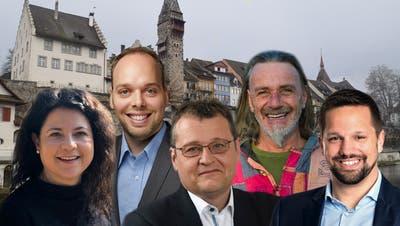 Fünf heisse Fragen an fünf Kandidaten – doch nur jemand wird das Rennen um den freien Stadtratssitz machen