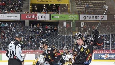 Eishockey in Corona-Zeiten: Mit der Maske in der Arena - das ist irgendwie brav und gewöhnlich