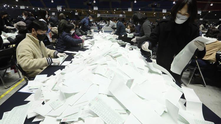 Südkorea: Erfolgreiche Wahlen mitten in der Pandemie