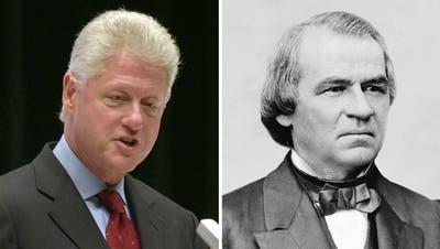 Clinton und Johnson – diese Impeachment-Verfahren scheiterten