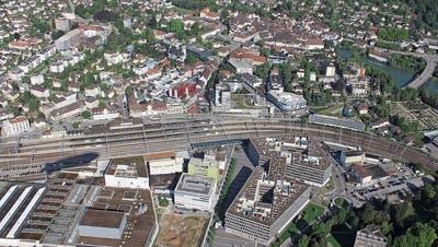 Das Bahnhofareal hat grosses Potenzial und soll zum attraktiven Zentrumsraum werden