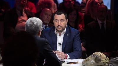 Für Ex-Innenminister und Lega-Chef Salvini wird es ernst
