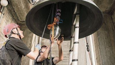 Nach der Sanierung läuten die Glocken künftig leiser