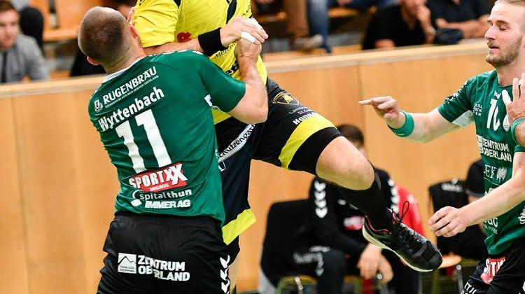 St.Otmars Lauf geht weiter - 10 Siege in Folge: Die St.Galler Handballer verhindern im Cup das Déjà-vu