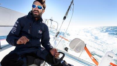 Der Genfer Alan Roura bricht zu seinem einsamen Abenteuer auf– es ist auch eine Flucht vor der Welt