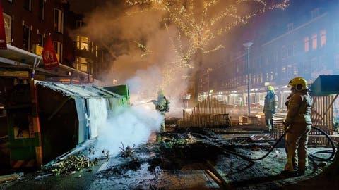 Corona-Krawalle in den Niederlanden: Deshalb eskalierte die Lage in den holländischen Städten