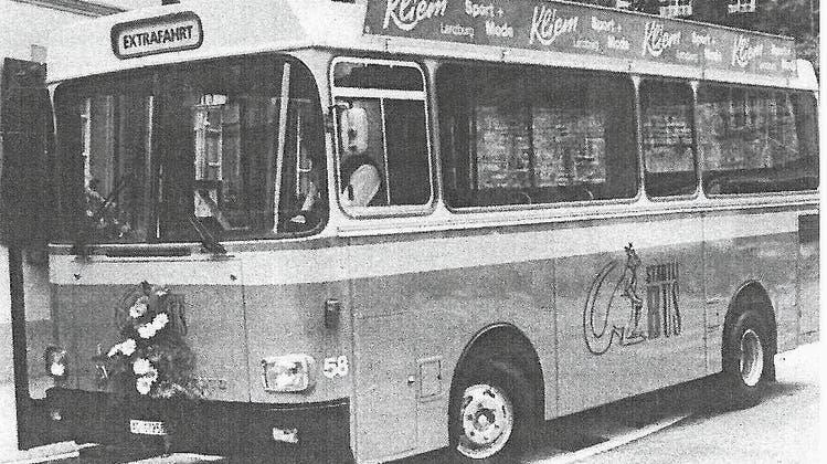 50-jähriges Jubiläum: Wenn der alte Bus mal wieder nicht lief, holte der Chauffeur einfach sein Privatauto