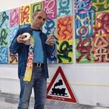 «Die Linien, die Farben, sie wollen ausbrechen»: Freiämter Künstler wurde kreativ – während die Welt ruhte