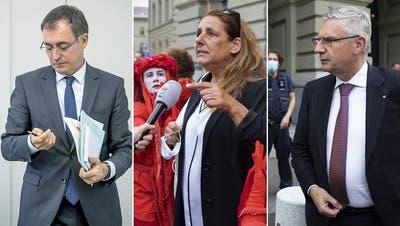 «FrauArschlan», «fucking Glarner» – die Klimajugenddemonstriert und Politiker verlieren den Anstand