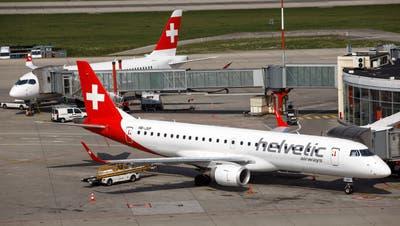 Dicke Luft im Helvetic-Cockpit: Die Airline ist mit Kritik konfrontiert und steht vor harten Gesprächen mit der Swiss