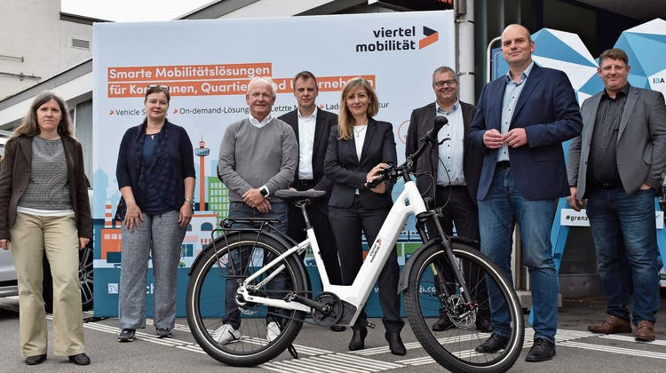 E-Bikes stehen in den Startlöchern: Bald kann man auch hier Velos teilen