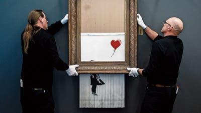 Spezielle Kunst: Wenn die Meister ihre Werke selber zerstören