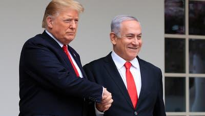 «Historisches Friedensabkommen» zwischen Israel und den Arabischen Emiraten – so twittert Trump
