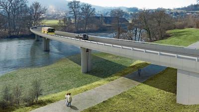 Endlich Baubeginn für die Umfahrung Mellingen – wo es zu Verkehrsbehinderungen kommen wird