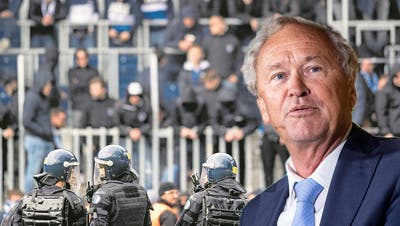 «Ordnungsdienst des FCL war überfordert» – Luzerner Sicherheitsdirektor fordert schweizweite Massnahmen gegen Fussball-Chaoten