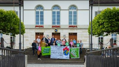 Aargauer Grüne reichen Klimaschutz-Initiative ein