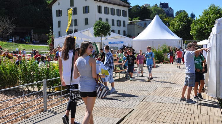 Die Berufsschau in Lenzburg sollte zum ersten Mal stattfinden - jetzt bleibt sie wegen Corona auf der Strecke