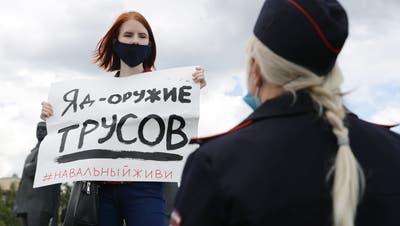 Die sibirischen Rächer: So wollen Nawalnys Anhänger den Traum ihres vergifteten Vorbilds erfüllen