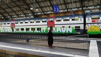 «Braun ist in – Braune sind willkommen»: Was eine St.Galler Kantonsrätin auf Facebook zu einer Anti-SVP-Aktion postete