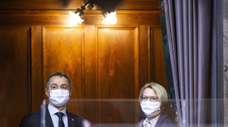 Unruhe im Aussendepartement – mehrere Topdiplomaten stehen vor dem Absprung