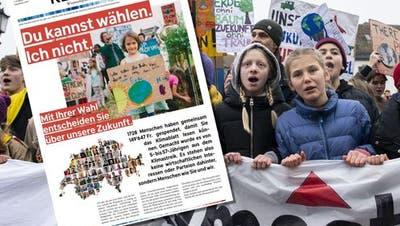 Die Klimajugend verschickt heute 1'067'000 Klimazeitungen – das steckt dahinter