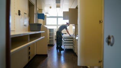 Armee und Zivilschutz im Corona-Einsatz im Kantonsspital Frauenfeld: «Wir sind froh, dass wir helfen können»