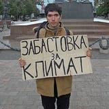 Für mehr Klimaschutz: Greta auf Russisch