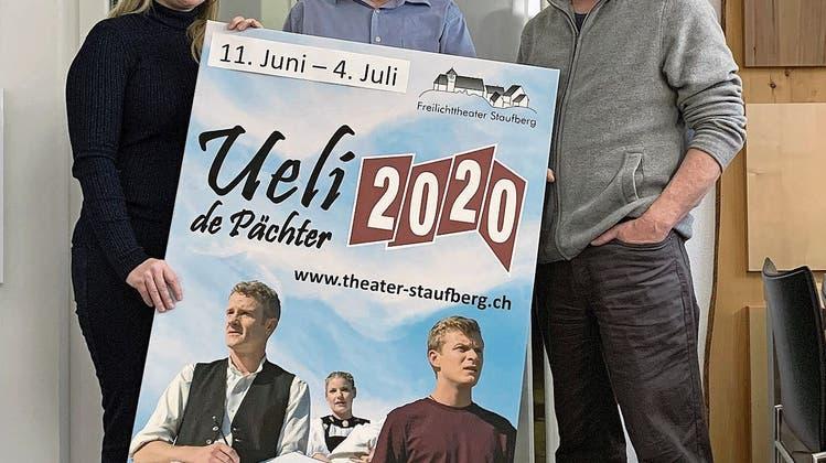 «Ueli de Pächter 2020»: Auf dem Staufberg wird Bettina zum Vreneli
