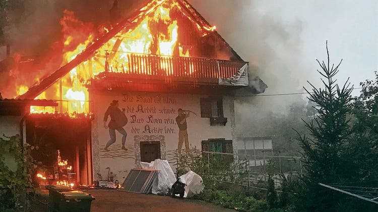 In Mellikon sammelt man jetzt digital für die Brandopfer