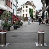 Die Abriegelung der Innenstadt dauert deutlich länger – wo bleiben bloss die Basler Poller?