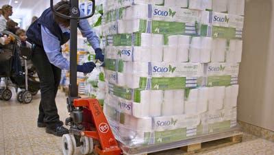 Apropos: Die Theorie vom WC-Papier