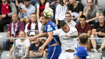 FCL-Captain Pascal Schürpf spendiert seinen Teamkollegen Gesundheits-Apéro