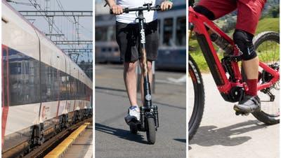 SBB planen Abo für Zug, Trottinett oder E-Bike – und suchen 200 Tester