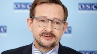 Schweizer Top-Diplomat wackelt: Dem Generalsekretär der OSZE droht die Abwahl